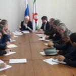 Ахмед Зурабов принял участие в совещании министра культуры и архивного дела