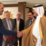 Делегация Ингушетии во главе с Юнус-Беком Евкуровым прибыла в Катар