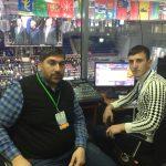 Звукорежиссеры Студии  на турнире по греко- римской борьбе