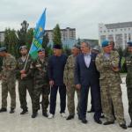 Хаваж Марзабеков принял участие в праздновании ВДВ