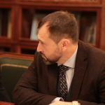 М.В. Базоркин в рабочей поездке совместно с Главой региона Ю.Б.Евкуровым встретился с Министром культуры РФ В.Р. Мединским
